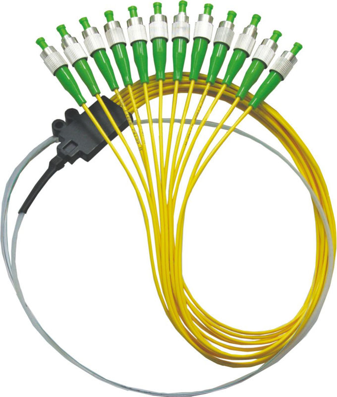 Waterproof Bunchy Fiber Optic Patch Cord  G657A SC ST APC PC Single Mode Simplex PVC/ LSZH
